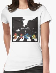 nintendo beatles Womens Fitted T-Shirt