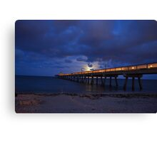 Moon Rise Canvas Print
