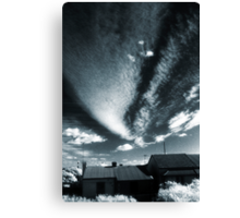 splendid sky over enmore  Canvas Print