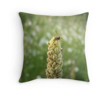 Workaholic Throw Pillow