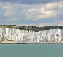 White cliffs of Dover by Arie Koene