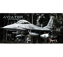 F-16 Fighting Falcon Photographic Print