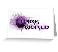 Darkworld Gaming Logo Greeting Card