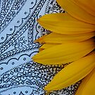 Retro Sunflower by Pamela Hubbard