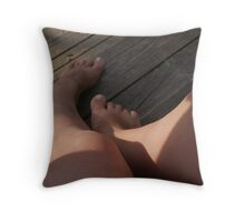 With nice lighting.... Throw Pillow
