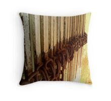 """rust"" Throw Pillow"