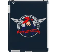 Where in the World is Peggy Carter iPad Case/Skin