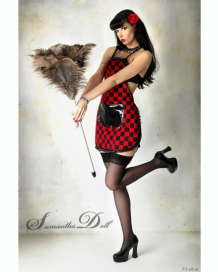 Samantha Pin Up Doll 2 by Samantha Doll