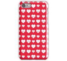 Valentines Heart Pattern iPhone Case/Skin