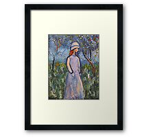 All is blossom Framed Print
