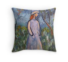 All is blossom Throw Pillow