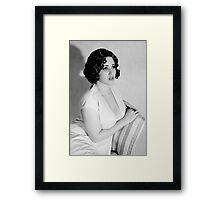 The It Girl Framed Print
