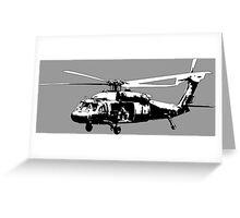 UH-60 Black Hawk Greeting Card