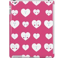 Pink Valentines Heart Pattern iPad Case/Skin