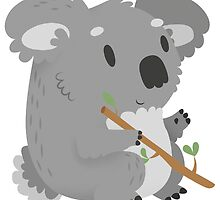 Cuddly Koala Bear by Claire Stamper