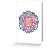 Radiant Medallion Doodle Greeting Card