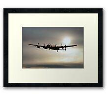 The Mynarski Memorial Lancaster  Framed Print