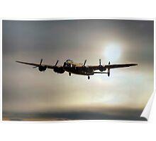 The Mynarski Memorial Lancaster  Poster