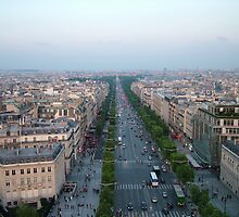 Champs Elysees by Fiona Moran