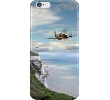 Spitfires Over Dover  iPhone Case/Skin