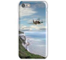 Spitfires Over Dover  iPhone Case/Skin