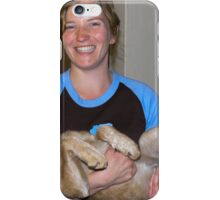 Ness and Buster at the Police House iPhone Case/Skin