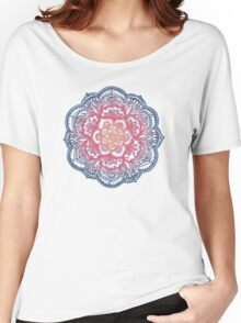 Radiant Medallion Doodle Women's Relaxed Fit T-Shirt