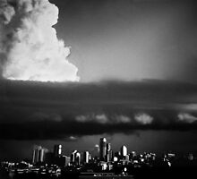 Clouds Over Brisbane by Carly Chapman