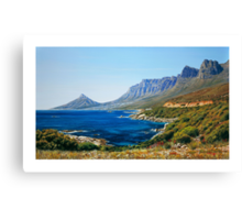 Twelve Apostles Cape Town South Africa Canvas Print