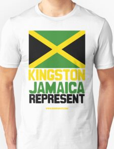 Jamaica, Represent T-Shirt