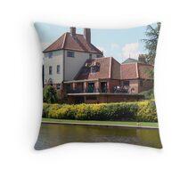 York's Rowntree Park Throw Pillow