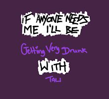 If Anyone Needs Me - Tali Womens Fitted T-Shirt