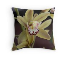 Mums Orchid Throw Pillow