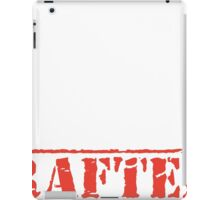 8th Day Drafters T-shirt iPad Case/Skin
