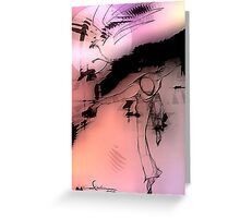 cool sketch 67 Greeting Card