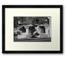 St Paul - A View Framed Print