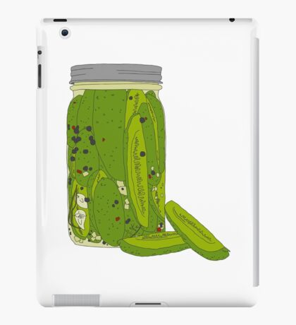 Jar of Pickles iPad Case/Skin