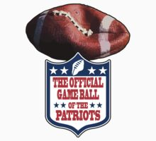DEFLATEGATE - Official Game Ball of the New England Patriots Kids Clothes
