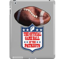 DEFLATEGATE - Official Game Ball of the New England Patriots iPad Case/Skin