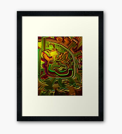 Abstract Intended Framed Print
