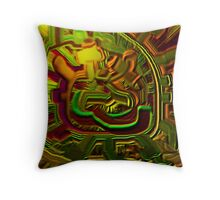 Abstract Intended Throw Pillow