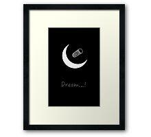 Moon Beer Framed Print