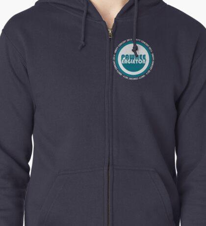Pawnee-Eagleton unity concert 2014 (Ron's hoodie) Zipped Hoodie