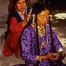 Drok-pa women by inge