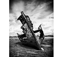 Decayed, neglected and left to rot Photographic Print