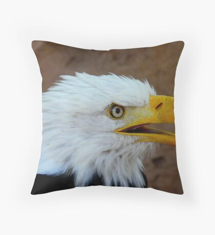 Close up  Throw Pillow