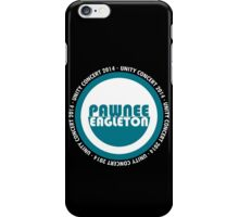 Pawnee-Eagleton unity concert 2014 (Ron's hoodie) iPhone Case/Skin