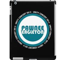 Pawnee-Eagleton unity concert 2014 (Ron's hoodie) iPad Case/Skin