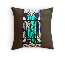 St Andrews window Throw Pillow