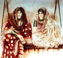 Swinging Sisters - Joint Colloboration 4  by Shree